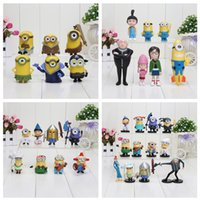 Despicable Me 3 minions Movie Character Figures hand to do t...