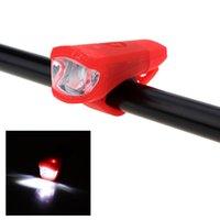 100 lumen Resistente all'acqua Quick Lock due modalità di luce anteriore della bicicletta con USB DHL Y1099