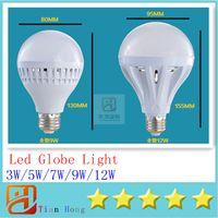 New High bright 3W 5W 7W 9W 12W 85V- 265V Globe Led Bulb Led ...