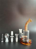 Deux fonctions Vente en gros Livraison gratuite Bongs en verre de verre bongs bonne pipe bons bongs offre avec 18,8 mm Livraison gratuite