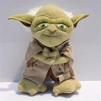 Star Wars Yoda Plush Toy Cosplay Costume Soft Stuffed Doll 2...