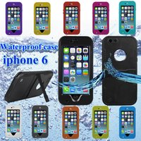 2014 NEW AAAA Redpepper Waterproof Case for iphone 6 5S 5C 5...