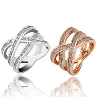 New Genuine 925 18K Sterling Silver Rings For Women Wholesal...