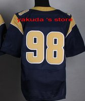 2015 New Player blue Elite Jersey, Discount Cheap Customized ...