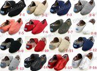 FAST expédition marque 2016 femmes hommes chaussures de toile solides, EVA plat motif rayures amants chaussures de scintillement chaussures de chaussures classiques chaussures.