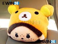 High Quality Cute Monchhichi Car Auto Head And Neck Pillow B...