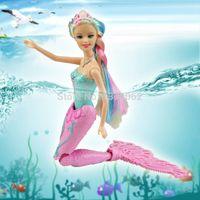 2015 Swimming Swim Magic Mermaid Doll Kids anime classic toy...