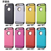 Hybrid Plastic Hard Back Cover TPU Rubber Gel Case For Iphon...