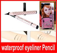Makeup YANQINA black Eyeliner pencil eyes stereoscopic effec...