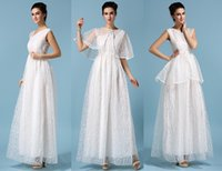 Pure White 2015 New Bridesmaid Dress Formal Party Evening Dr...