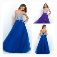 Ball Gown Sweetheart Prom Dresses with Crystal Beading 2015 ...