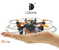 Nouveaux 2MP Mini Drones avec caméra Hd Yizhan I6s Micro Quadcopters Avec 2.4G 4CH 6Axis One Key retour Nano Hexacopter RTF