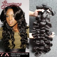 3pcs lot AAAAAAA+ Brazilian Loose Deep Wave Virgin Hair Exte...