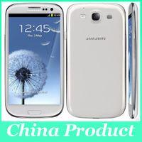 Original 4.8 '' Samsung Galaxy S3 i9300 1G / 16G Quad Core 8MP Camera GPS Wifi 3G Téléphone Unlocked Remis en état de stock