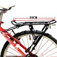 Ciclismo MTB bicicletta portante posteriore portapacchi mensola staffa lega di alluminio per V-brake bici Y0388