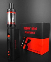 Kanger subox mini kit de arranque con OLED SCREEN KBOX Mini Variable Vatio 5W-50W clon vs SUBOX NANO subtanque mini