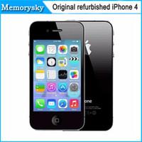 Original Desbloqueado Apple iPhone 4 Teléfono Móvil 3.5