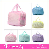 Floral Makeup Cosmetic Bag Toiletry Travel Wash Transparent ...