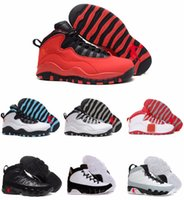 Authentic Man Basketball Shoes Retro 10 X Basketball Shoes R...