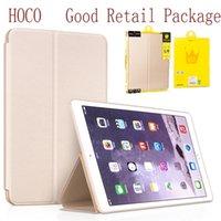 HOCO Nappa caso de cuero ultra fino con silicio cubierta posterior para el iPad de Apple Pro funda protectora del 12,9 pulgadas