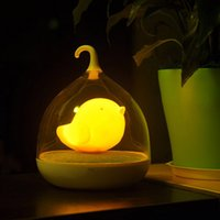 2015 Creative Birdcage LED Night Lamp With smart touch dimme...