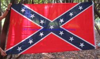 50pcs 150 * 90cm confédérés Drapeaux de bataille Deux Drapeaux côtés imprimés War Flag Flag Consfederate Confederate Rebel nationale civile Polyester