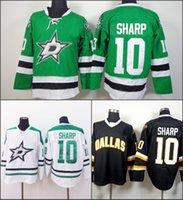 Dallas #10 Patrick Sharp 2015 New Season ICE Hockey jerseys ...