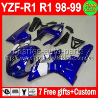 7gifts+ Body For YAMAHA YZFR1 98- 99 YZF R1 YZF1000 98 99 C#L6...