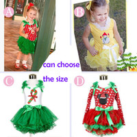 DHL 4 design Girls Christmas Xmas Mickey Minnie fawn Lace Dr...