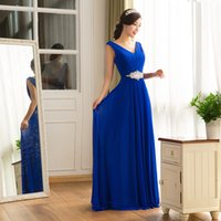 2016 New Chiffon Evening Gowns Bridesmaids Long Party Prom D...