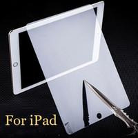 Pour iPad Pro mini air en verre trempé Film de protection écran Screen Guard pour atmosphères explosibles Pour ipad air 5 ipad 2 3 4 ipad mini-DHL SSC014 gratuitement