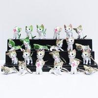Cartoon Chi' s Sweet Home Cat Cats Figure keychain Anima...