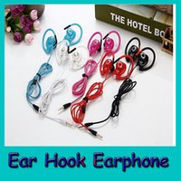 Ear Hook Sport Earphone Earphones 3. 5mm Headphones Headset w...