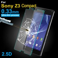 0. 3mm 2. 5D Tempered Glass Screen Protector Film For Sony Xpe...