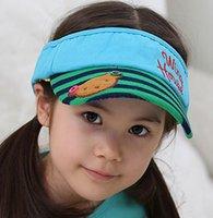 Adjustable Boys Girls Sunhat Baby Hats Spirng Summer Kids Ko...