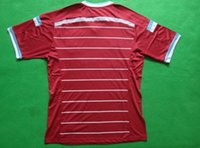 14- 15 Premier League West Ham United Home Red Soccer Jersey ...