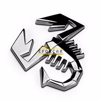 Metal Scorpion 3D DIY Bumper Car Stickers Cover Scratches St...