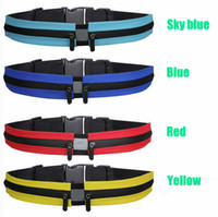 Waist bag 10 colors High quality waterproof belt bags with d...