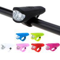 100 lumen Resistente all'acqua Quick Lock due modalità di luce anteriore della bicicletta con Y1099 USB