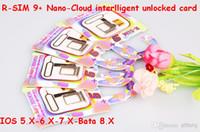 30pcs R- SIM 9+ R- SIM9+ plus Nano- cloud intelligent unlocked ...
