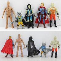 DHL Free shipping 50sets Guardians of the Galaxy PVC figure ...