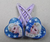 FACTORY PRICE 5 Kinds Frozen Hairpin Anna Elsa Hairclips Gir...