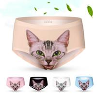 Hot Sexy Women' s Underwear with Cute kitten Cat Kitty P...