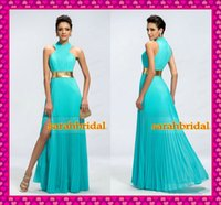 Best Selling Gold Sash Pleat Chiffon Evening Gowns 2015 Cust...