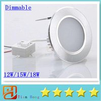 Led Downlights New Arrival 12W 15W 18W AC 110- 240V Dimmable ...
