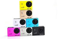 Оригинал SJCAM SJ4000 WiFi HD камера Мини видеокамеры спорта камера для Gopro Водонепроницаемый 1,5-дюймовый 170 градусов Автомобильный видеорегистратор свободный корабль