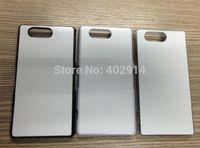 3 color DIY Sublimation Heat Press PC cover case with Metal ...