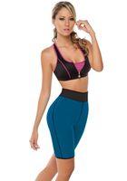 Hot Women Ultra Sweat Enhancing Thermal Shorts Neoprene Comp...