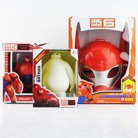 Free shipping in Box Cartoon Movie big Hero 6 baymax Mask Ba...