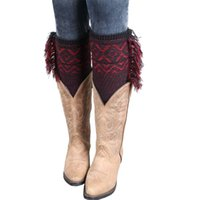 20 Pairs New Arrival 6 Colors Vintage Women Leg Warmers Bohe...